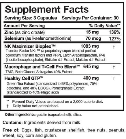 Researched Nutritionals | Transfer Factor Multi-Immune™ | 90 Capsules