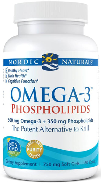 Nordic Naturals | Omega-3 Phospholipids | 60 Softgels