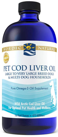 Nordic Naturals | Pet Cod Liver Oil | Liquid