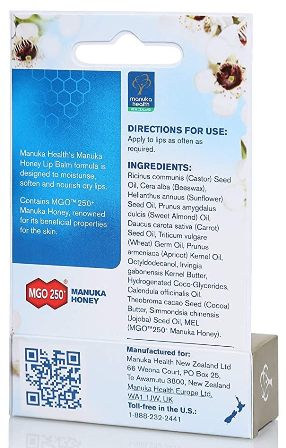 Manuka Health | Manuka Honey Lip Balm | 0.16 oz