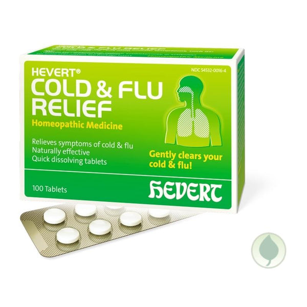 Cold Flu Relief | 100 Tablets