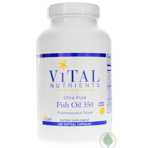 Ultra Pure Fish Oil 350 | 200 Soft Gels