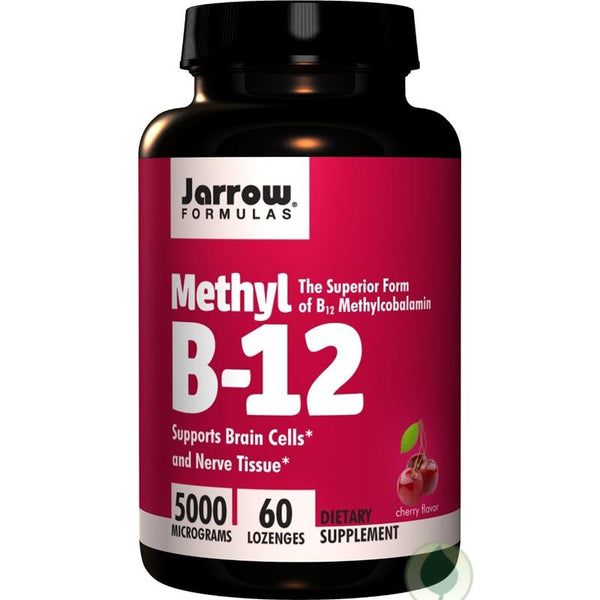 Methyl B-12 | 5000 mcg | 60 Lozenges