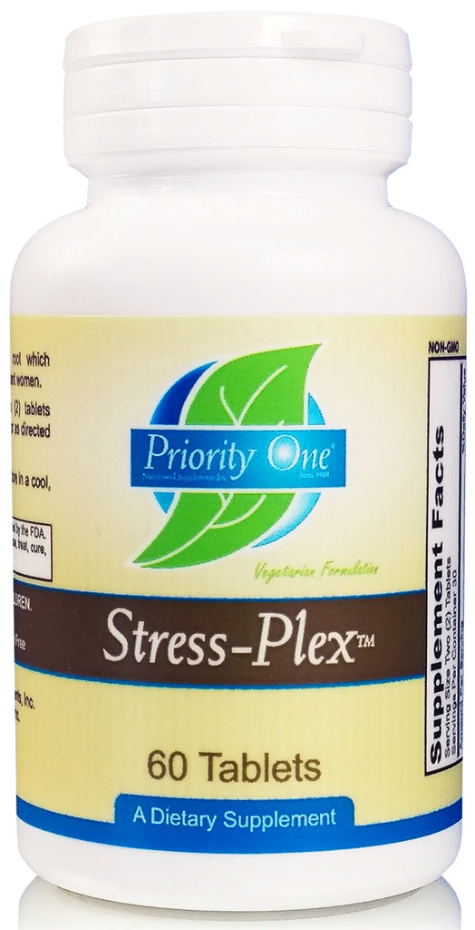Priority One | Stress Plex | 60 Tablets