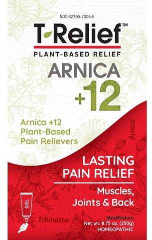MediNatura | T-Relief Pain | 8.75 oz Gel
