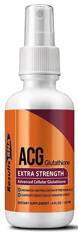 Results RNA | ACG Glutathione Extra Strength | 4 oz Spray