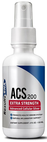 Results RNA | ACS 200 Silver Extra Strength | 4 oz Spray
