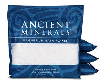 Ancient Minerals | Magnesium Bath Flakes | 32 LBS