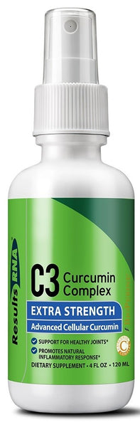 Results RNA | C3 Curcumin Complex Extra Strength | 4 oz Spray