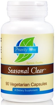 Priority One | Seasonal Clear | 90 Vegetarian Capsules