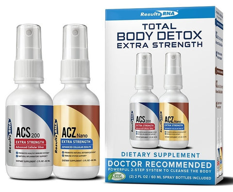 Results RNA | Total Body Detox Extra Strength | 2 oz System