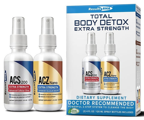 Results RNA | Total Body Detox Extra Strength | 4 oz System