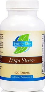 Priority One | Mega Stress | 120 Tablets