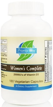 Priority One | Women's Complete | 180 Capsules