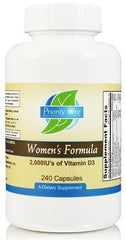 Priority One | Women's Formula With Iron | 240 Capsules