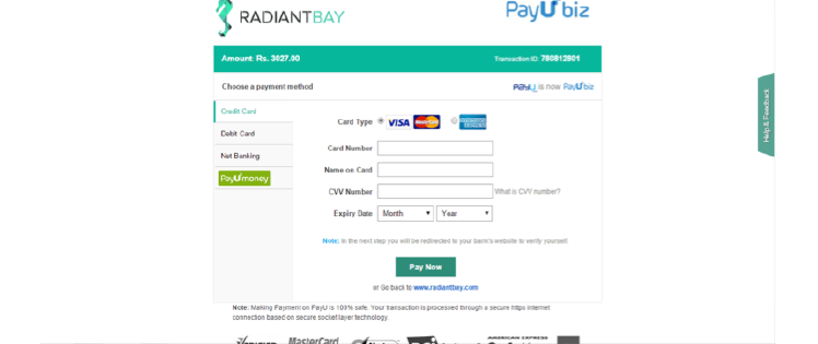 How to buy jewellery at Radiant Bay
