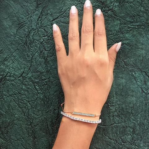 minimalist bracelet at Radiant Bay