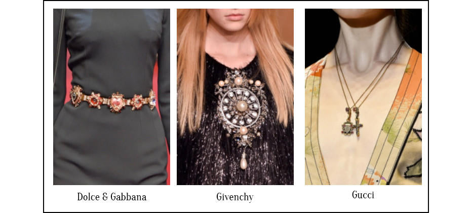 Medieval Revival- Jewellery Trend Report for Spring 2015