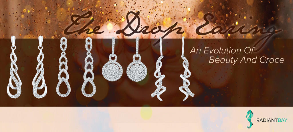 drop and dangle earrings by Radiant Bay