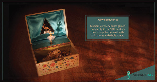 jewel box diaries- Musical jewellery box