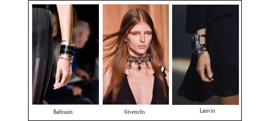 Tight Embrace- Jewellery Trend Report for Spring 2015