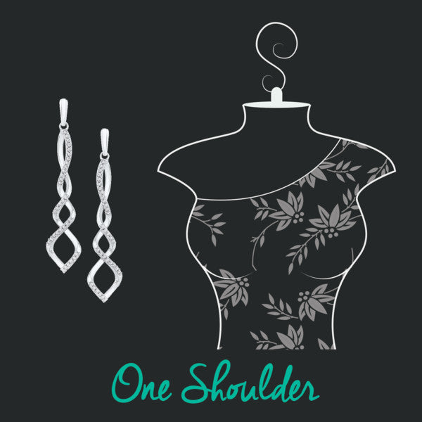 how to accessorize your neckline- one shoulder