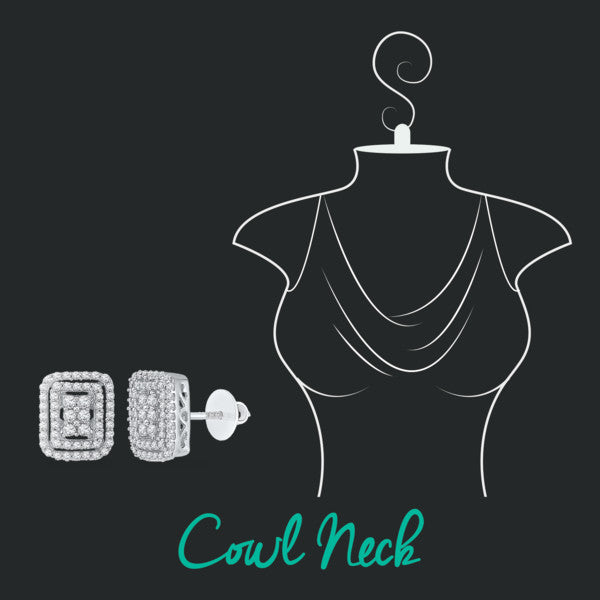 how to accessorize your neckline- cowl neck