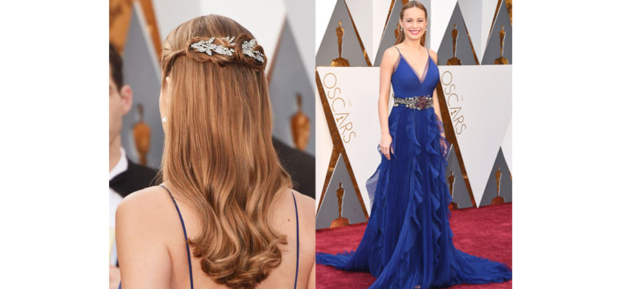 Brie Larson- top jewellery at the 2016 Oscars