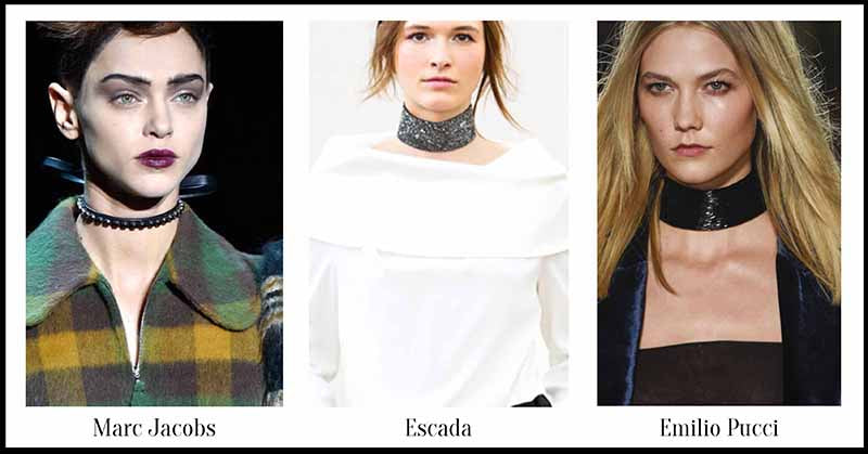 Choker - Fall Jewellery for Autumn/Winter 2015