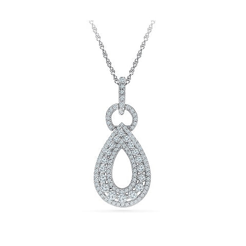Endowment Diamond Pendant - Radiant Bay