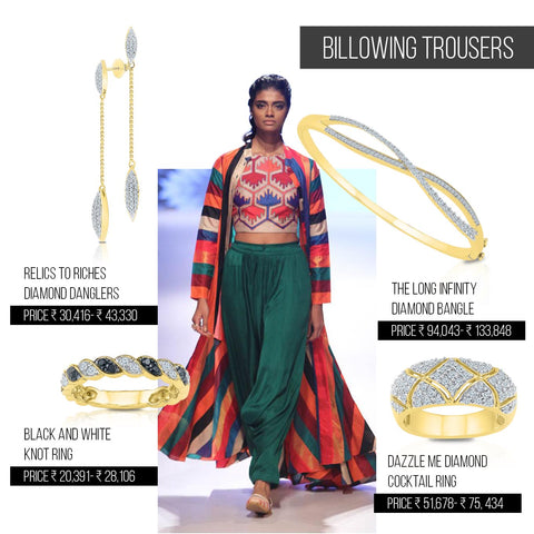 5 ways to style trends from Lakme Fashion Week Festive/ Winter 2016 - Billowing Trousers