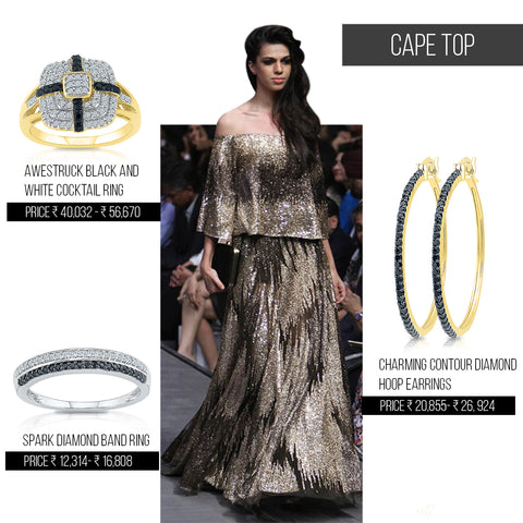 5 ways to style trends from Lakme Fashion Week Festive/Winter 2016- Cape Tops