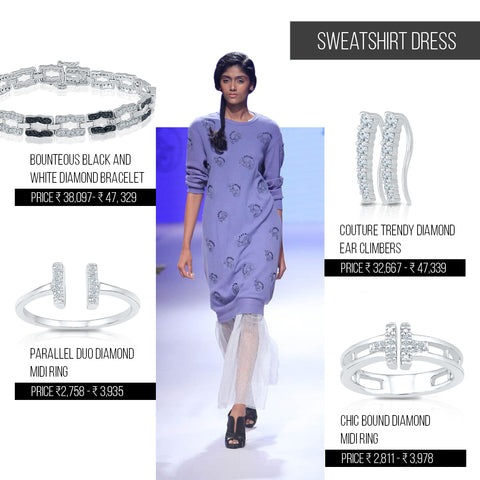 5 ways to style trends from Lakme Fashion Week Festive/ Winter 2016 - Sweatshirt Dress
