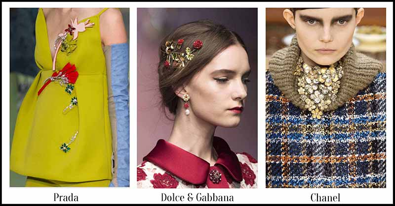 Flowers - Fall Jewellery for Autumn/Winter 2015