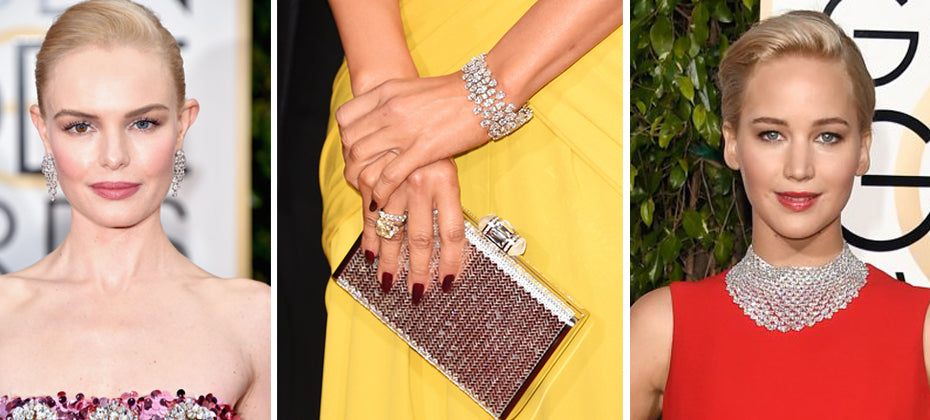 Top 10 pieces of jewellery at the Golden Globes 2016