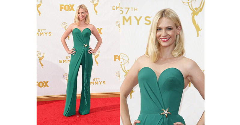 January Jones @ Emmys 2015