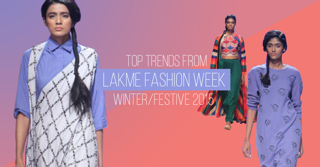 5 ways to style trends from Lakme Fashion Week Festive/ Winter 2016