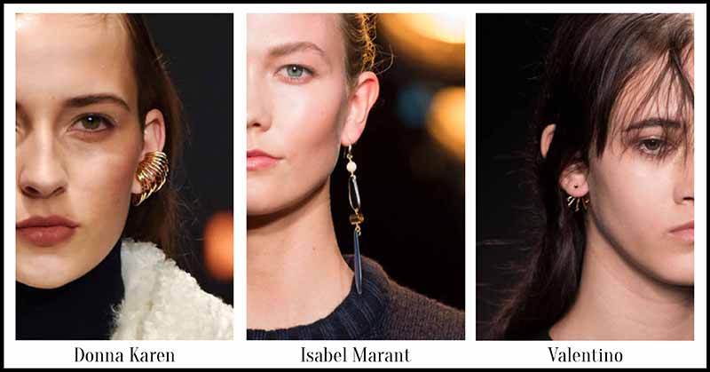 Single Earrings - Fall Jewellery for Autumn/Winter 2015