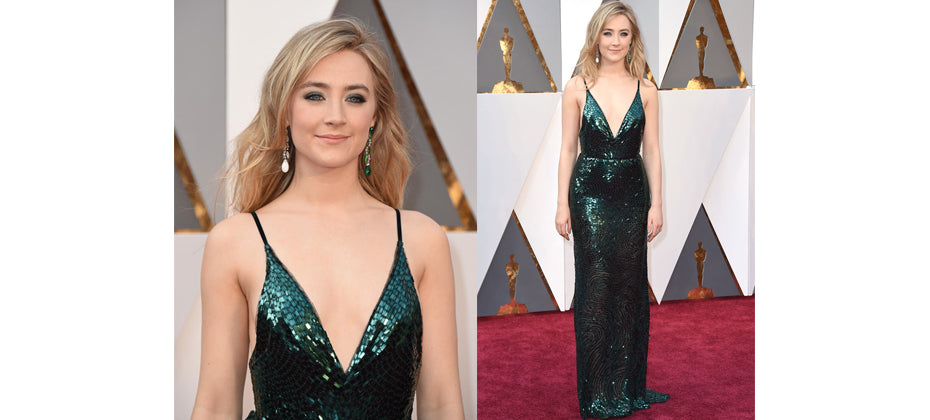 Saoirse Ronan- top jewellery at the 2016 Oscars