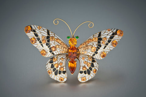 Spessartine Butterfly- Birthstone for January
