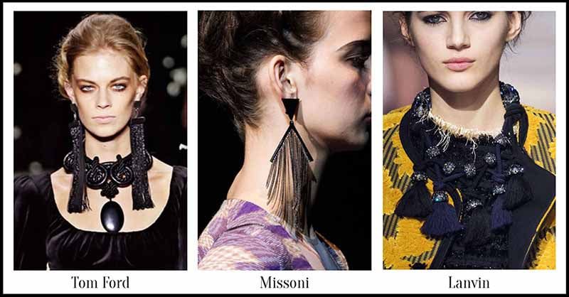 Tassels - Fall Jewellery for Autumn/Winter 2015