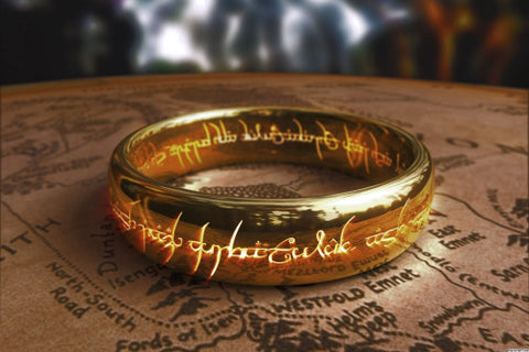 the one ring from lord of the rings- 6 of the most iconic jewellery in movies