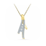 Everyday Radiance Diamond Pendant in 14k and 18k Gold online for women