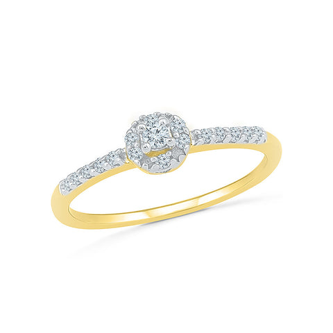 Eternal Love Diamond Engagement Band Ring