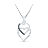 Addicted to Love Diamond Pendant in 14k and 18k Gold online for women