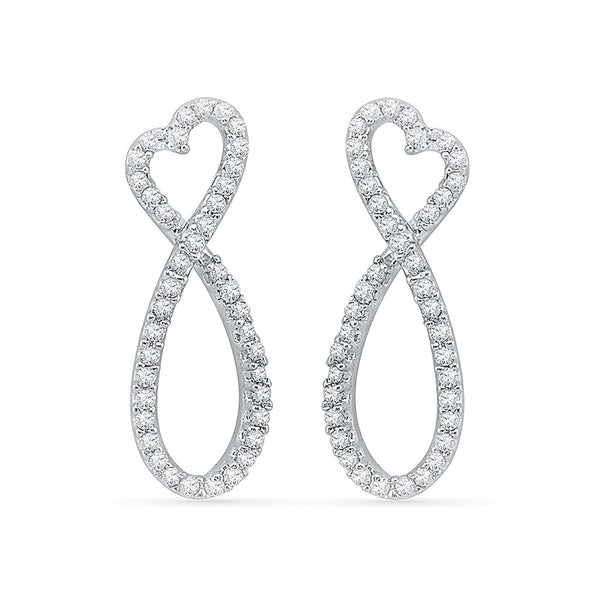 Forevermore Infinity Ladies' Earrings