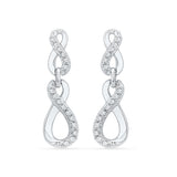 Immortal Infinity Ladies' Earrings in 14k and 18k gold for women online