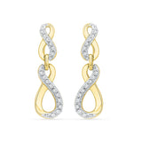 Immortal Infinity Ladies' Earrings