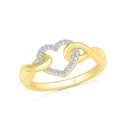 Cherished Heart Diamond Ring
