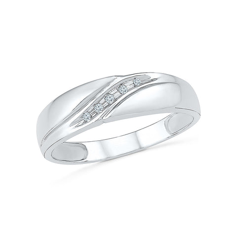Trendy Diamond Band for Men